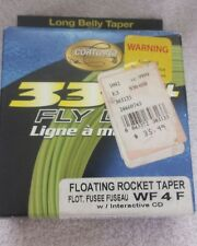 Cortland 333 Fly Line Floating Rocket Taper WF4F 28yds FREE SHIPPING 321618