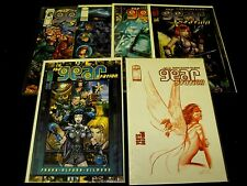 GEAR STATION 1-5 ALEX ROSS 2000 COMICS RUN SET 1 2 3 4 5 and WIZARD 1/2 6 TOTAL