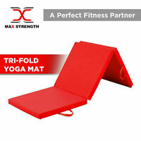 Tri-Folding Mat 6ft Gym Exercise Training Workout Yoga Mat 5cm Thick Non Slip