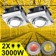 3000W COB LED Grow Light Kit Full Spectrum Lamp For Plant Hydroponics Flower