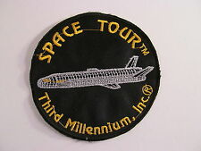 Vintage Space Tour Patch Third Millennium Inc