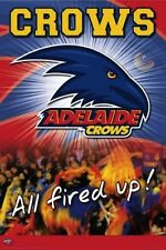 AFL Adelaide Crows Logo POSTER 61x91cm NEW * aussie rules footy football team