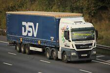 TRUCKINGIMAGES TRUCK PHOTO - TRACTION DSV / TRANSAFE MAN RK66OJY