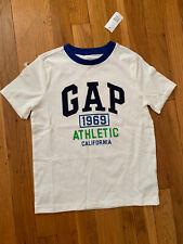 Gap White Logo short sleeve shirt kids 114-132 cm boys