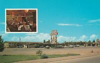 Winslow, AZ - Entre' Restaurrant & Motel - Exterior - Interior Inset