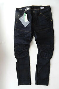 G-STAR RAW Herren Jeans Hose Elwood 5620 3D Slim Jeans Schwarz W 34 L 32