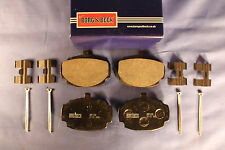MG  ROADSTER OR BGT BRAKE PAD SET + PINS & CLIPS FITTING  KIT BORG AND BECK  d2b