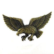 1a9cb4fba37c Laiton bronze effet aigle Boucle de ceinture Oiseau Amérique F Oui Fit Snap  Belt