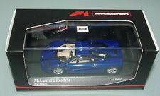 Minichamps 1/43 McLAREN F1 ROADCAR STREET CAR - BLUE