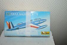 MAQUETTE AVION FOUGA MAGISTER 170 HELLER FRANCE 1/72 MODEL KIT NEUF PLANE/PLANO