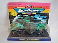 STAR TREK THE NEXT GENERATION MICROMACHINES GALOOB 1993 / COLLECTION 3 / SEALED