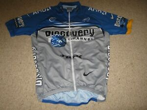 Discovery Channel Repro Polyester cycling jersey - Large adult - 38 inch chest