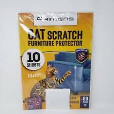 Heavy Duty Cat Scratch Deterrent Furniture Protectors 10 Sheets 17 x 12 Inches