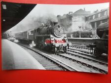 PHOTO  BR STANDARD CLASS 4 2-6-0 LOCO NO 76071 AT GLASGOW CENTRAL STATION