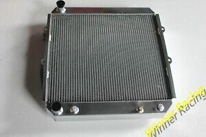 Aluminum Radiator for Toyota Land Cruiser LJ70/71/73/77/78 2LTE 2.4TD AT 1990-93