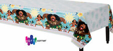 Moana Party Supplies TABLE COVER 54 X 96 Inch Plastic Genuine Lic