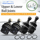 Upper & Lower Ball Joints Kit Ford NA-NL & EA-EF EL Fairlane Falcon Fairmont LTD