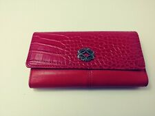 Rolfs Deluxe Clutch Bright Eyes Red/red Genuine Leather