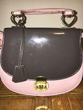 Topshop Pink Clutch Shoulder Designer Hobo Vintage Patent Party Cross Holiday