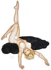 Purrs Not Furs STICKER Decal Pin Up Art Olivia De Berardinis OL10