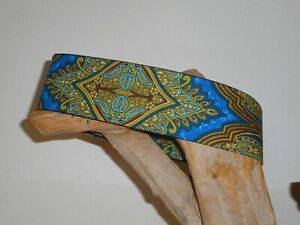 Aruban Waters 2 Inch Custom Made Martingale Dog Collar