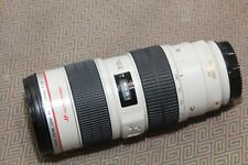 Canon EF 70-200mm f/2.8 L IS USM Lens GOOD WORKING SUPER SHARP DIGITAL ref458772