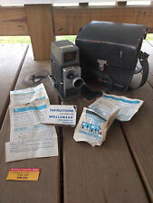 Old Vtg Antique Bell & Howell Electric Eye 10mm Movie Camera With Case/Bag