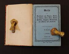 Reise von Deutschland  Ungarn Türkei  Syrien  Ägypten  G.Seifert  1864  Dresden