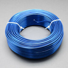 2mm Aluminium Craft Florist Wire Jewellery Making Blue 3m lengths