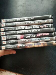Playstation 2 Games Lot