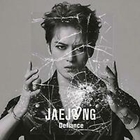 Kim JaeJoong Japan 2nd Single [Defiance] Type B (CD+DVD) Limited Edition F/S NEW