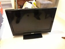 "32"" Toshiba Regza 32AV636D HD Ready Digital Freeview LCD TV Piano Black"