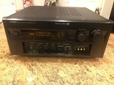 YAMAHA RX-V1 NATURAL SOUND A/V RECEIVER  Bundle Manual and remote with it.