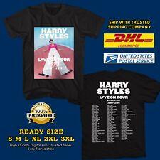 GRAB FAST HARRY STYLES LOVE ON N. AMERICAN SUMMER TOUR 2021 BLACK TEE SHIRT RH01
