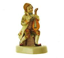 C1925 Goebel figurine garçon avec mandoline et luth