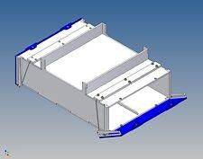 Pb130-palettenstaubox for Carson Trailer - 130/120 L X 46 H x 180 B