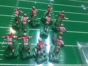 Vintage Tudor Electric Football Players 11 Atlanta Falcons W/TTC Bases