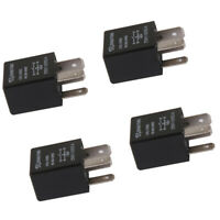 4pcs 12V 4 Pin 30A Automotive Car Auto Truck Boat Relay Kit High Current