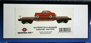 O27 Industrial Rail SOUTHERN PACIFIC flat car w/ car load -- NEW IN BOX