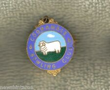 Coonamble Bowling Club Lapel Badge, Sheep / Ram Design