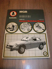 AUTOBOOKS MGB OWNER´S WORKSHOP MANUAL DO IT YOURSELF