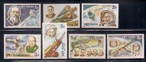 Vietnam   1986   Sc # 1614-20   Space   MNH   (10475)