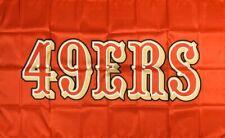 San Francisco 49ers Retro NFL Flag 3x5 ft Sports Red Banner Man-Cave Garage Bar
