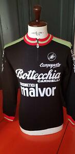 Vintage 1983 Malvor Bottecchia cycling jersey maglia ciclismo maillot cyclisme