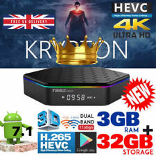2018 T95Z Plus S912 3GB+32GB Octa Core Android 7.1 Smart TV Box Dual WIFI 4K HD