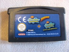 JEU NINTENDO GAME BOY @@ COLOR @@ ADVANCE @@ BOB L'EPONGE LE FILM + PHOTO DELIRE