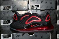 Nike Air Max 720 Mesh Men's Casual Shoes Black University Red CN9833-001 NEW