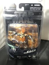 STAR WARS GENERAL GRIEVOUS DEMISE OF UGH SAGA COLLECTION ACTION FIGURE NEW RARE