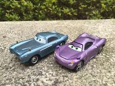 Mattel Disney Pixar Car 2 Finn McMissile & Holly Metal Diecast Toy Car New Loose