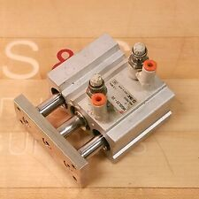 Smc Mgql20-20 Pneumatic Cylinder Compact Guided, 20mm Bore 20mm Stroke - Used